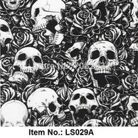 Skull Pattern No. LS029A Water Transfer Printing Film