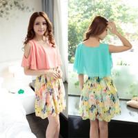 New 2014 Spring Summer Fashion Women Dress Women casual dresses Bohemian Dress Vestido