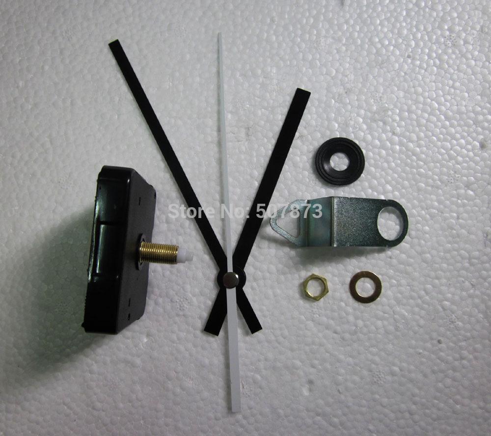 Wholesale FREE SHIPPING 10PCS/lot Quartz Clock Movement Kit Spindle Mechanism shaft 20mm Mute scanning mechanism BJ005-1(China (Mainland))