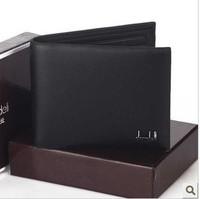 Free Shipping!Promotion Brand Designer Men's Wallet Man Wallets Short Male Wallet Men Money Bags casual cowhide wallet