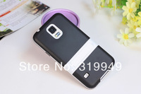 High Quality 2-Color Matte Back Skin Holder Cover Case for Samsung Galaxy S5 i9600 Free Shipping EMS DHL UPS HKPAM CPAM