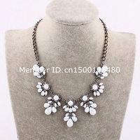 luxury fashion statement resin necklace pendant wholesale 886
