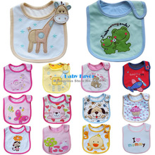 5Pcs Baby Boys Girls Kids Newborn Bebe Infantil Children Carter's Bibs Waterproof Saliva Towel Scarves Feeding Apron Babadores(China (Mainland))