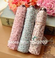 Shop fresh minced fancy glue dodechedron three fold umbrella anti-uv sun protection umbrella