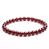 Free shipping Natural red garnet bracelet female accessories gift bracelets beauty