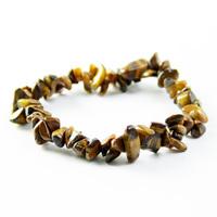 Free shipping Natural crystal yellow tigereye bracelet national trend lovers bracelet