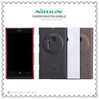 Nillkin Hard PC Shield for Nokia 1020/Lumia 1020 Cell Phone Shell, free shipping+stylus pen