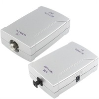 Coaxial to Optical Converter Adapter