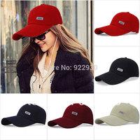 Mens Womens Sport Baseball Caps Plain Adjustable Hat Curved Visor Golf Peak brand fitted football basketball cap