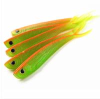 2014 New Set of 10pcs 2g 7.8cm Soft Silicone Tiddler Bait Fluke Fish Fishing Saltwater Fish Lure New Free Shipping