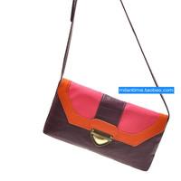 2014 Xm fashion colorant match envelope bag messenger bag female  Free shipping