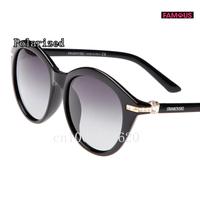 New brand designer polarized sunglasses for women fashion polarizer diamond women's driving sunglasses 8204