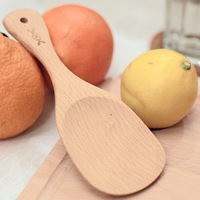Endulge beech logs of wood rice spoon wooden spoon zakka kitchen tools