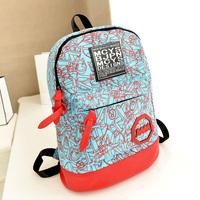 2014 backpack girls preppy style Backpacks school bag casual canvas backpack