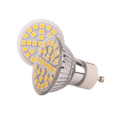 5w gu10 interface 5050 smd lamp cup spotlights white led single lamp energy saving lamp light bulb(China (Mainland))