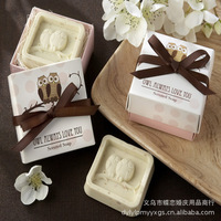 Wholesale, The Owl toilet soaf , wedding gift, Valentine's Day gift, 50pcs/lot, free shipping by EMS