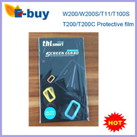 in stock Free shipping 3 pcs/lot Original Screen Protector Film For THL W200S/T11/T100S/T200/T200C /4400/5000Phone
