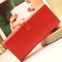 2013 female wallet medium-long day clutch card holder candy color mobile phone bag women's handbag