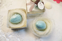Wholesale, The bird's nest toilet soap , wedding gift, Valentine's Day gift, 100pcs/lot, free shipping by EMS