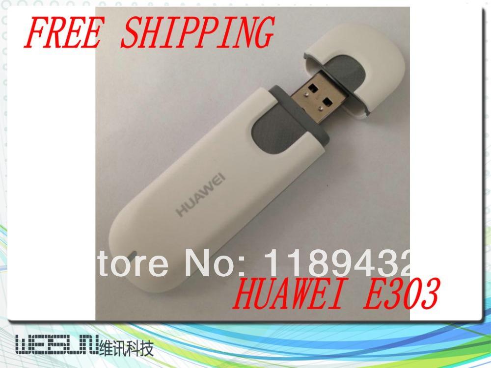 10PCS/LOT Original Unlock 7.2Mbps HUAWEI E303 3G HSDPA Modem And 3G USB Modem Free Shipping(China (Mainland))