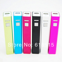 Beautiful and Fashion design 2600 mAh Mobile Power Bank Charger external power bank