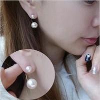 Hot-selling song pearl stud earring fashion star style earring gentlewomen earrings
