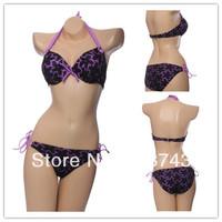 Best Feedback Hot Sale   Women's   Sexy Push Up   Swimwear Swimsuit  Bikini Sets  Beachwear FB154