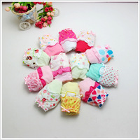 The most popular baby girl thin soft 100% cotton baby cute underwear lingerie lace print underwear 12pcs/lot Hotsale baby child