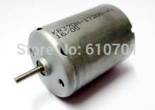 High Speed 370 - 17205 Motor Carbon Brush Motor High Torque 6 - 12V DC Motor 6V 5088RPM 0.051A(China (Mainland))
