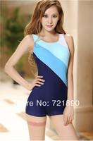 2014 Fasion Swimwear One-piece Boxer Plus Size 2XL-5XL