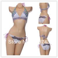 Best Feedback Hot Sale   Women's   Sexy Push Up   Swimwear Swimsuit  Bikini Sets  Beachwear FB160