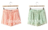 sally she DOO-20 Spring new Korean lace shorts 2 color new women's casual pants big yards brand style