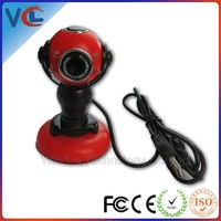 Free Shipping! USB round webcam flexible for PC computer Laptop
