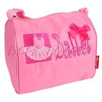 Kids Shoulder Strap Bag Ballet Dance School Accessory with 4 Little Bags Inside