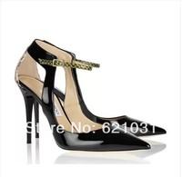 Newest! Sexy Pointed Toe High Heels Women Pumps Shoes Women 2014 Brand New Design Less Platform Pumps 2 Colors Size 35-40