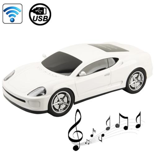 B1 Car Shape Bluetooth Wireless Stereo Speaker Support USB Flash Driver AUX-input Mode Indicator(China (Mainland))
