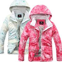 Teenage cotton-padded jacket ski suit child outdoor jacket outerwear fleece autumn and winter outdoor waterproof thermal