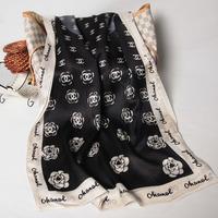 102003 2014 Newest Women's brand Georgette Satin scarf, 100% Silk scarves, rectangle silk scarf, Free Shipping,  Muslim Hijab