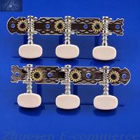 A Pair Classical Guitar Tuning Keys Peg Machine Head Tuner Set ZWQ10176