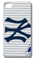 2014 fashion! Unique Newest Designs! The New York yankees Hard cover cases for iPhone 4 4s 1PCS+ free shipping