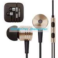 New Original Gold XIAOMI 2nd Piston Earphone 2 II Headphone Headset Earbud with Remote & Mic For M3 MI2 MI2S MI2A Mi1S M1 Phones