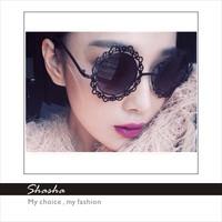 Elegant Retro Styles Fashion Sunglass Decent Children kids  girls floral sunglasses women brand designer summer beach holiday