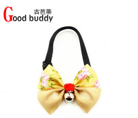 Good buddy exclusive debut of Korean maid pet dog collar rhinestone bow tie