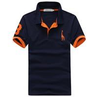 Free shipping 2013 New Mens T Shirt Men's Short Sleeve Slim Fit T Shirt For Men 3 Colors M-XXL BDP05