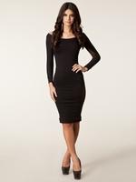 ML17974 Free Shipping Wholesale Sexy Women Black Mesh Dress New Arrival 2014 Slim Bandage Dress Transparent Club Pencil Dress