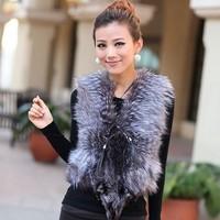 Xuanhu 2014 fox fur vest fur coat vest customize