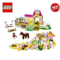 2014 rushed free shipping new original educational brand for lego sets blocks toys 10674 juniors series pony farm 306pcs