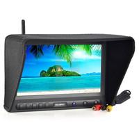 "Free shipping!Feelworld FPV-819A-58G 8"" HD 800*480 RC FPV Monitor 5.8GHz Wireless 8ch Receiver"