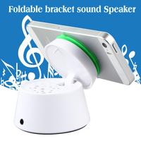 mini portable Speaker sucsion mobile phone holder
