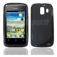 Soft TPU Gel Pouch Skin Case Cover for Huawei Ascend Y200 U8655
